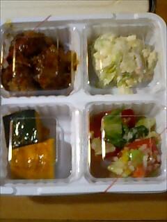 オリジン弁当のお惣菜