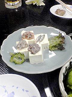 スクガラス豆腐セット